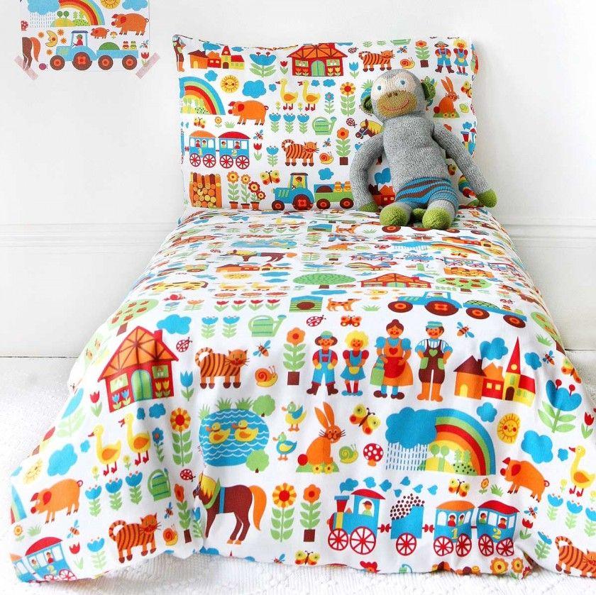 Wir lieben die 70er Jahre Kinderbettwäsche, Bettwäsche
