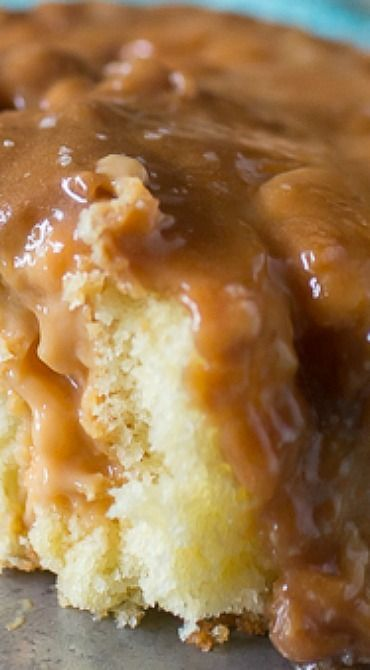 Caramel Butterscotch Poke Cake Salted Caramel Butterscotch Poke CakeSalted Caramel Butterscotch Poke Cake