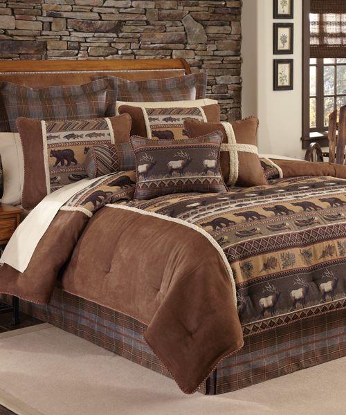 Croscill Caribou Lodge Bedding Collection Croscill Rustic
