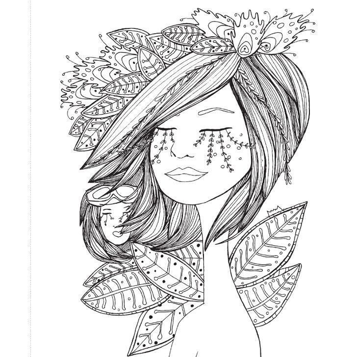 Libro Chicas de papel para colorear | Prints and drawing & painting ...