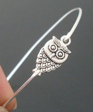 silver owl  on your wrist