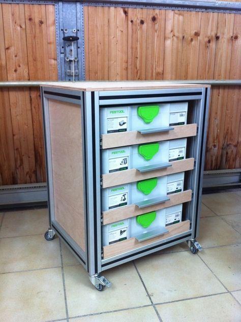 Self Made Festool Systainer Port Festool Festool Systainer Workshop Storage