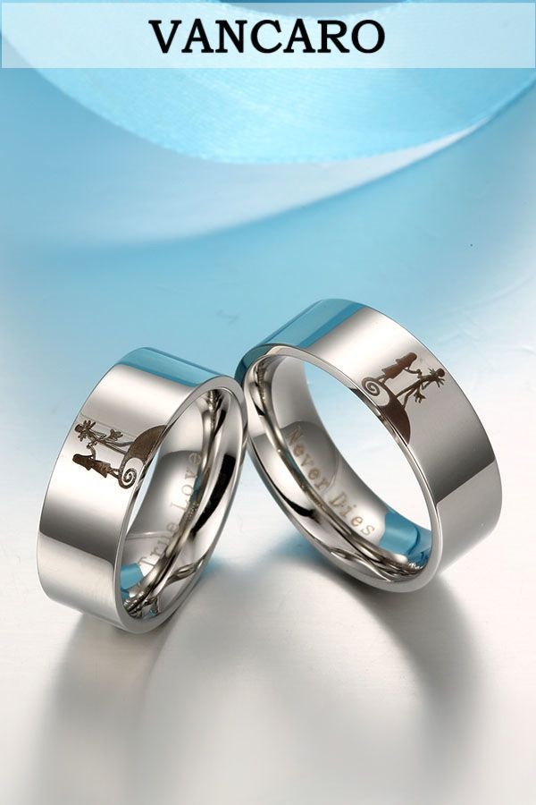 jack and sally couple rings nightmare before christmas wedding ring - Nightmare Before Christmas Wedding Bands