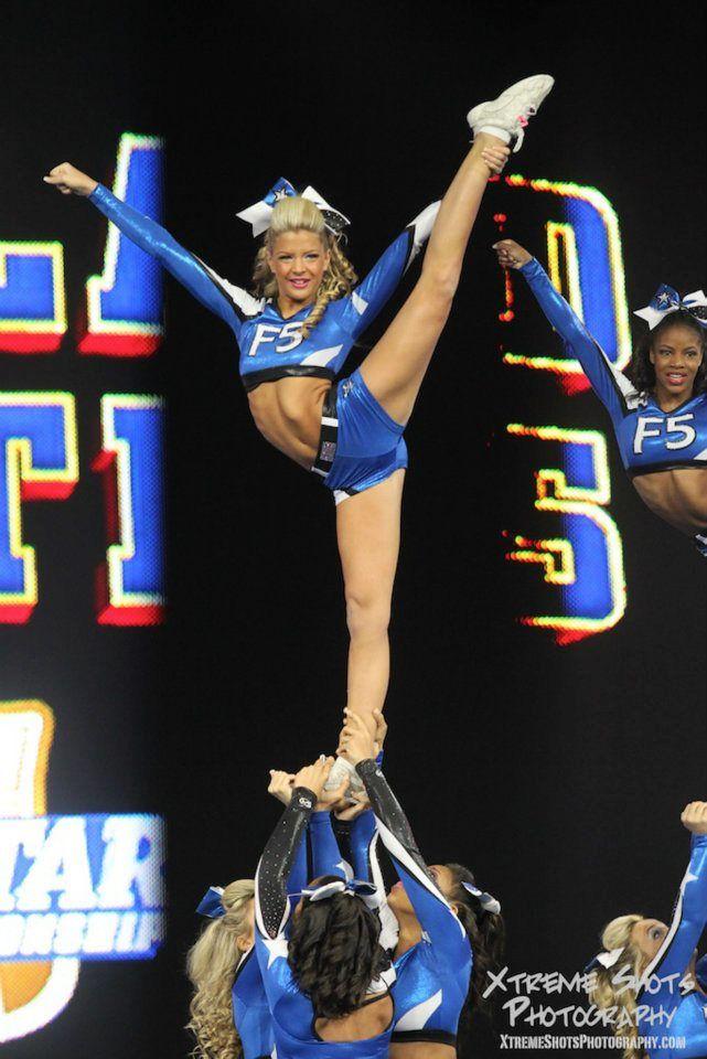 Kelcie Burch From Maryland Twisters F5 3 Cheerleading Cheer Stunts Allstar Cheerleading Cheer Uniform