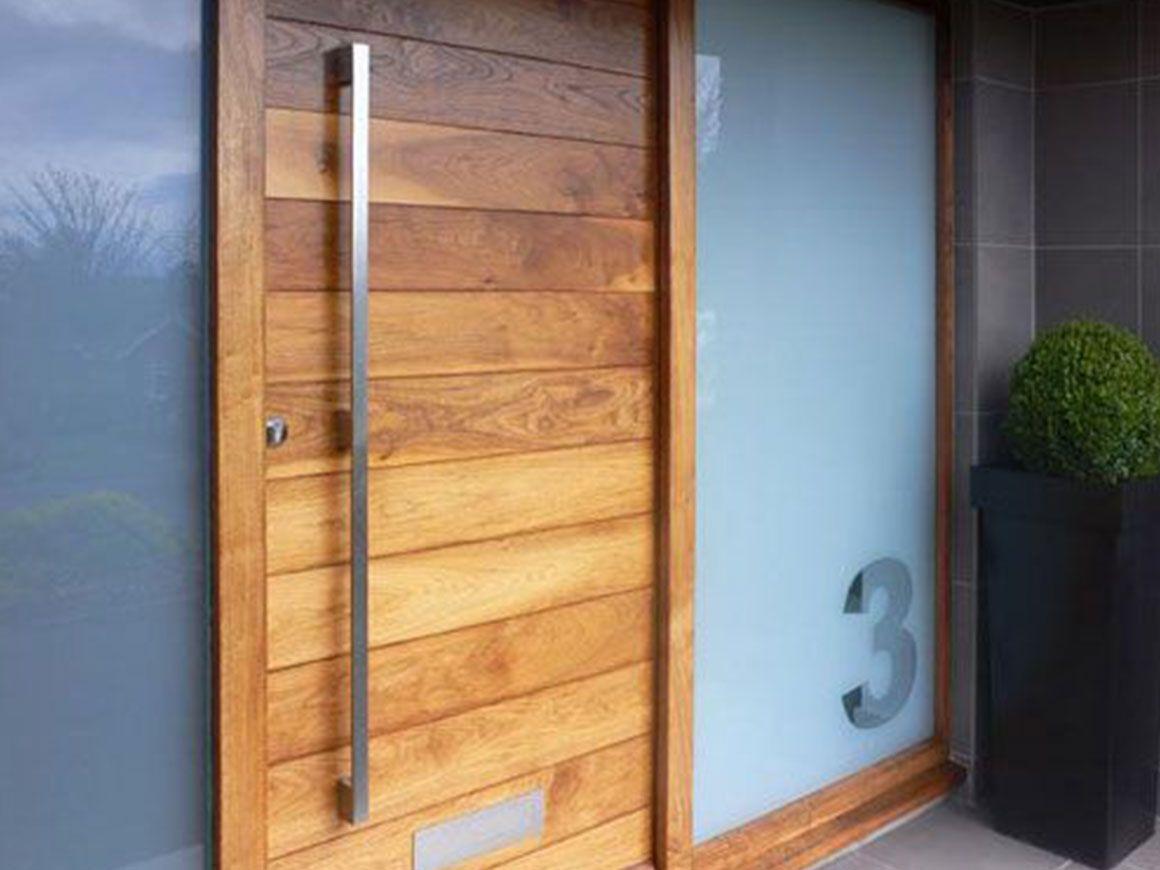 Verwonderlijk Afbeeldingsresultaat voor voordeur hout modern | Moderne voordeur UP-83