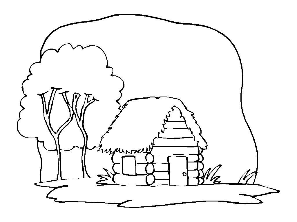 Dibujos para Colorear Casas 4 | Dibujos para colorear para niños ...