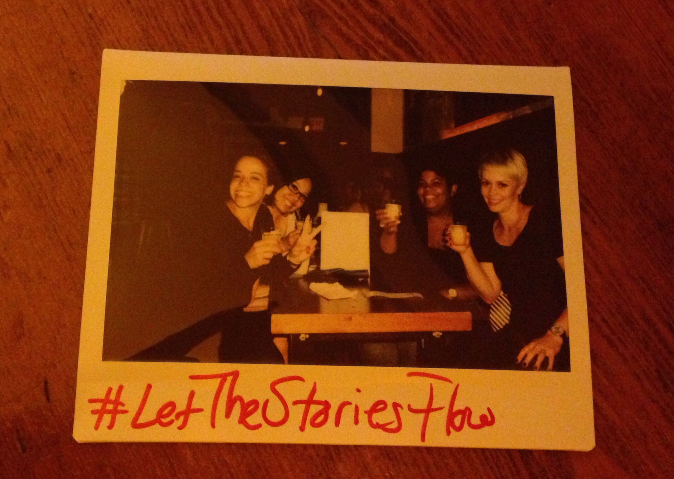 #letthestoriesflow