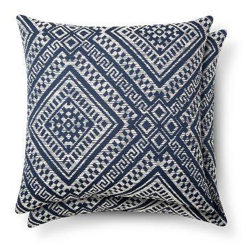 2pk Global Throw Pillow Threshold Throw Pillows Blue Throw Pillows Target Throw Pillows