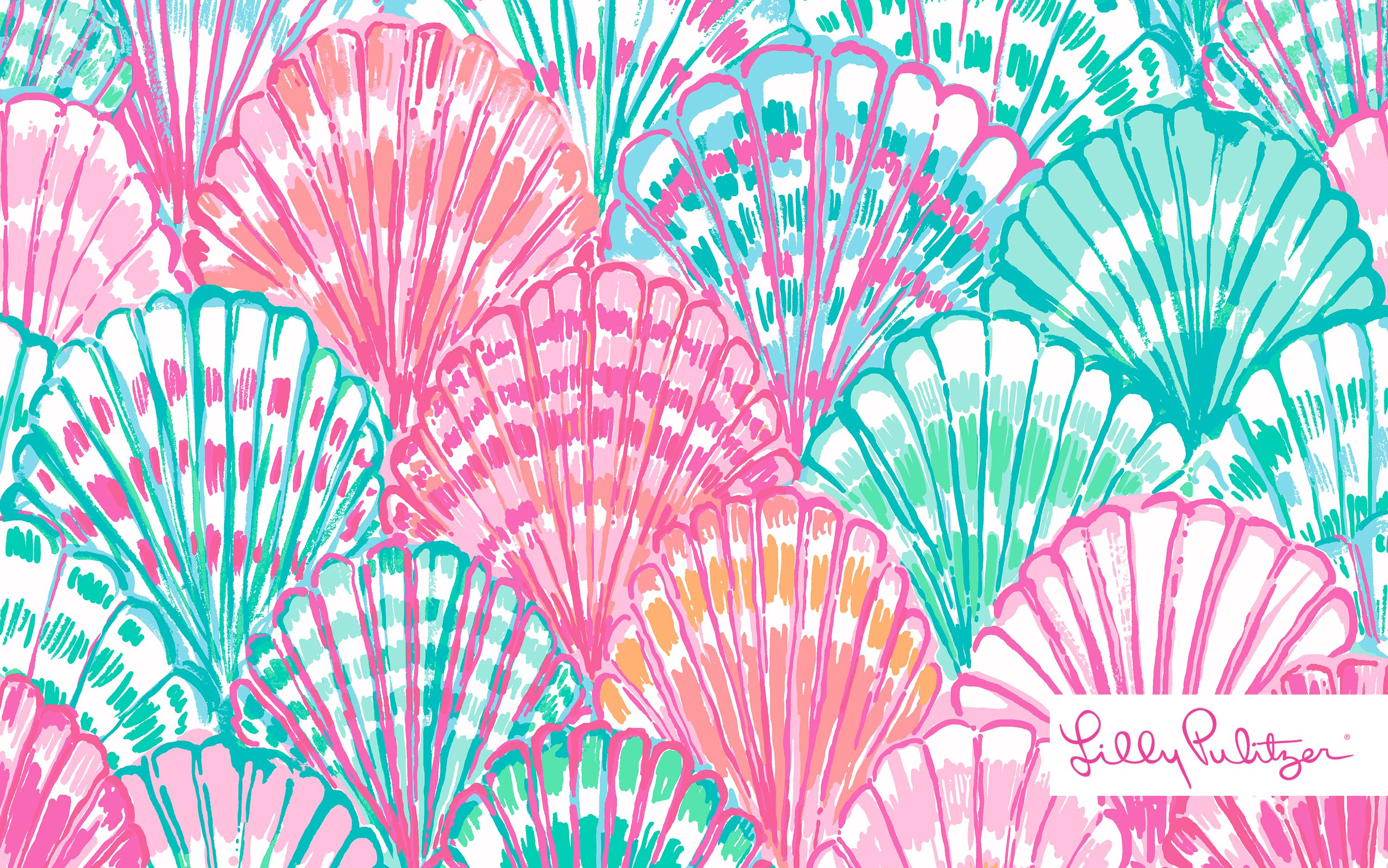 lilly pulitzer oh shello desktop wallpaper
