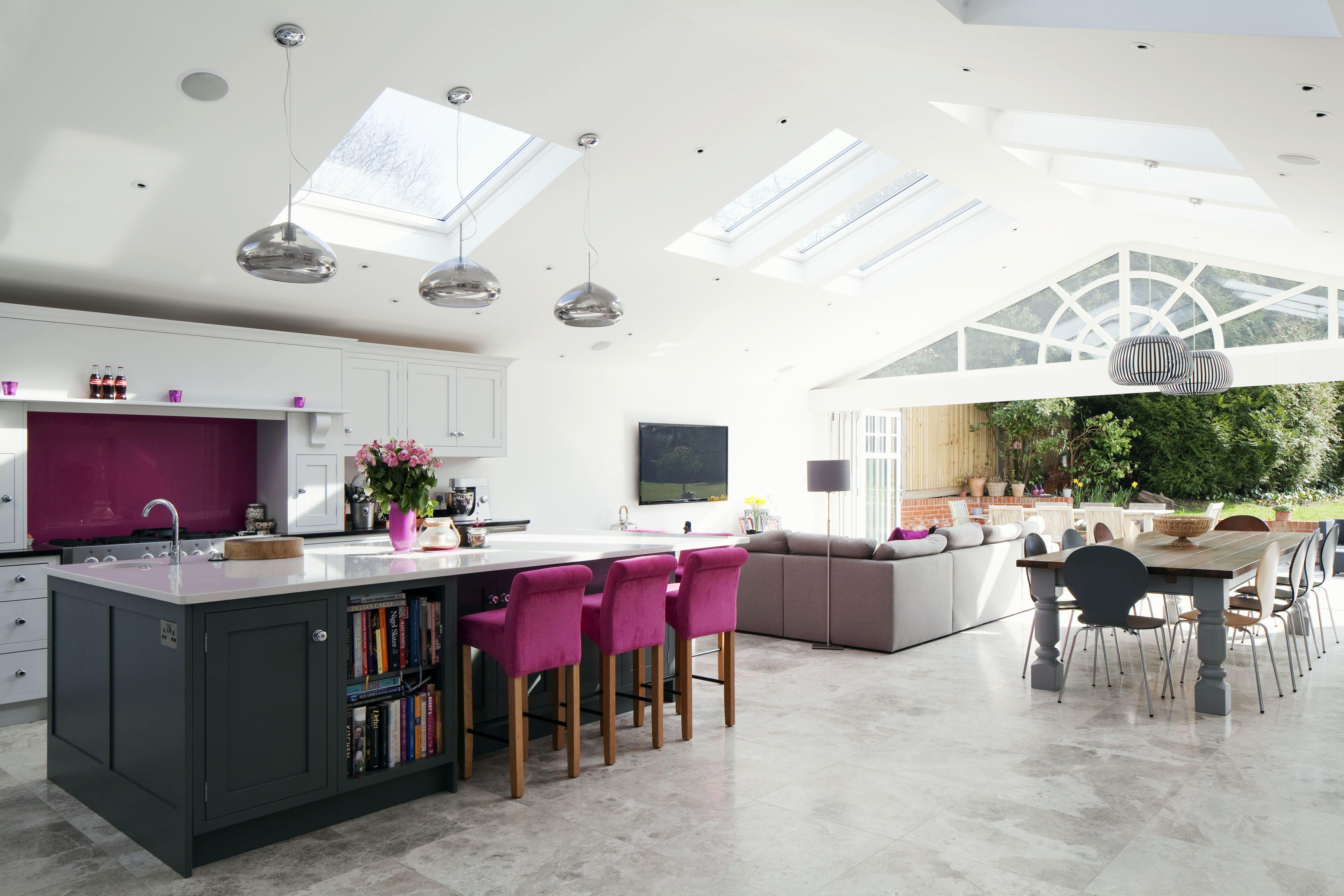 7 Awesome Big Open Kitchen Design Ideas For Cozy Cooking In 2020 Kitchen Layout Kitchen Island Storage Large Kitchen Island