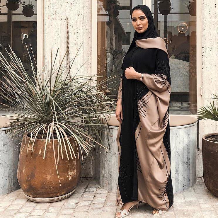 Bild Konnte Enthalten 1 Person Abaya Fashion Dubai Abaya Fashion Abaya Designs