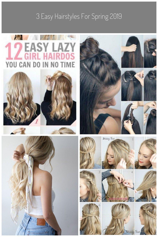 9 Super einfache Frisuren fr die faulen Tage Frisuren