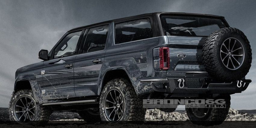 2020 Ford Bronco 4 Door Ford Bronco Ford Bronco 4 Door Bronco