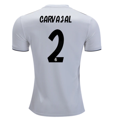 e03def24162 Real Madrid 18/19 Home Men Soccer Jersey Personalized Name and Number