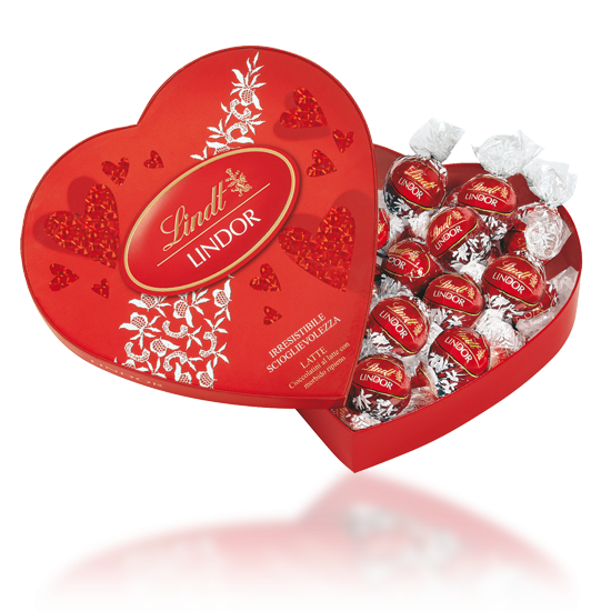 Lindor Amour Heart Box 160g One Of Our Favourites For