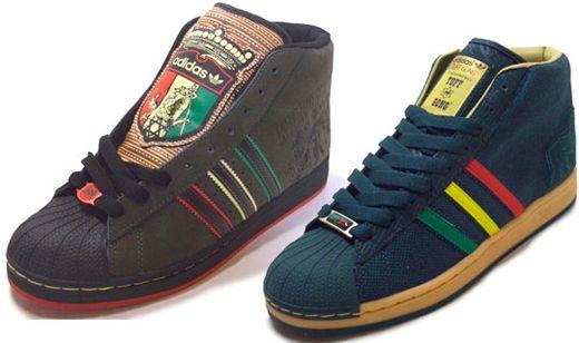 Adidas Kingston y Tuff Gong modelos pro de los