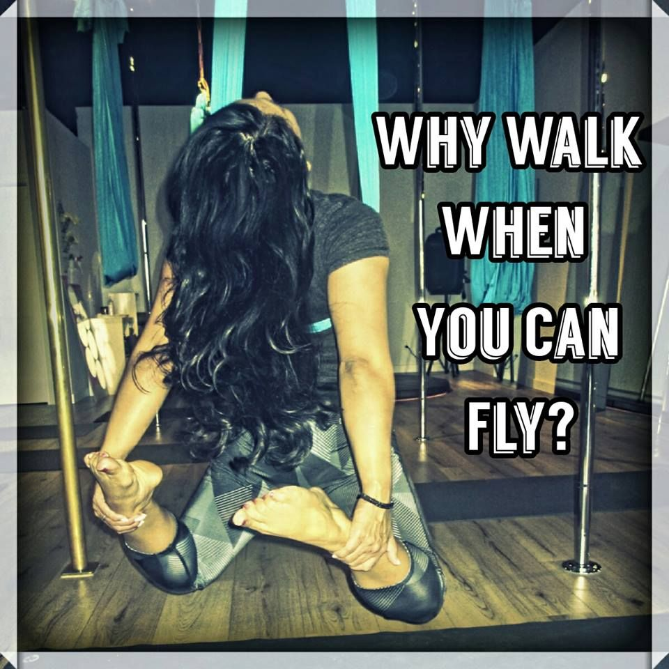 Ever Wanted To Get A Taste Of Flying Rise Up To The Challenge And Try Aerial Yoga You Will Be Surprised What You Ca Aerial Yoga Poses Aerial Yoga Yoga Quotes