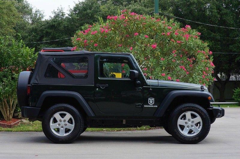 2011 Green Jeep Wrangler Sport 103k Miles, 6Speed