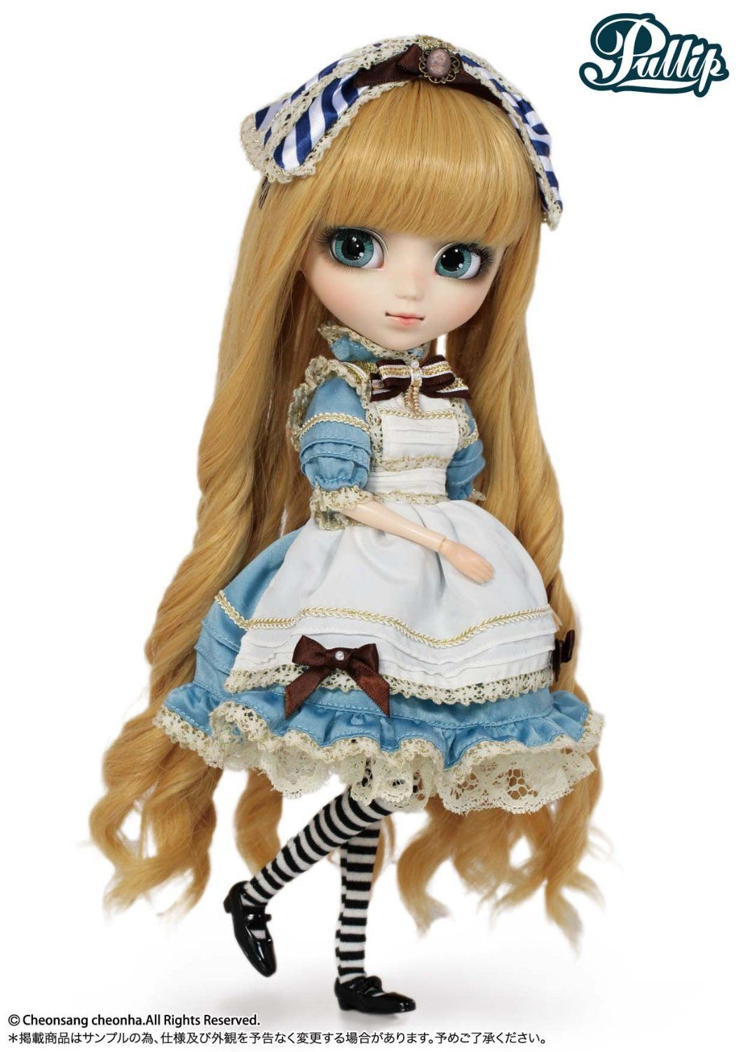 864091cb6ac68 Pullip Alice | Pretty dolls | Alice in wonderland costume ...