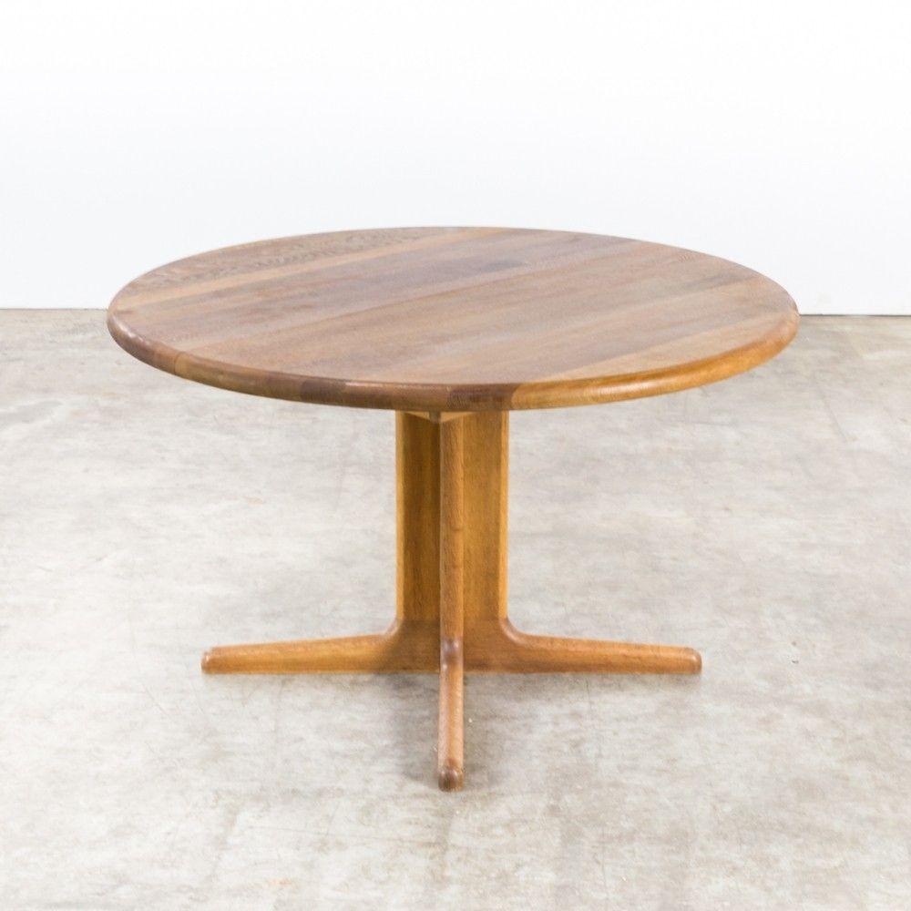 Niels O Møller Round Dinner Table For