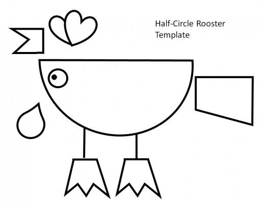 Printable Rooster Crafts For Kids Rooster Craft Chicken Crafts