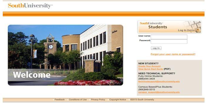 South University Online >> South University Student Login Login Archives Student