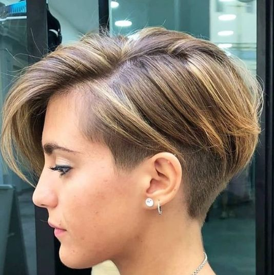 Pretty Pixie Haircuts For 2019 Thick Hair Styles Haircut For Thick Hair Undercut Hairstyles