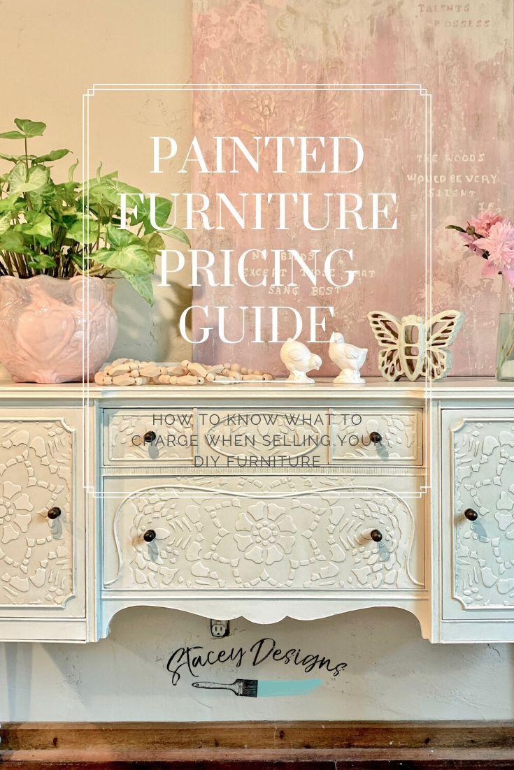 How to know what to charge when selling your DIY Furniture #furniturepainter #furnitureartist #furniturebiz #homedecorartist #homedecor #staceydesigns