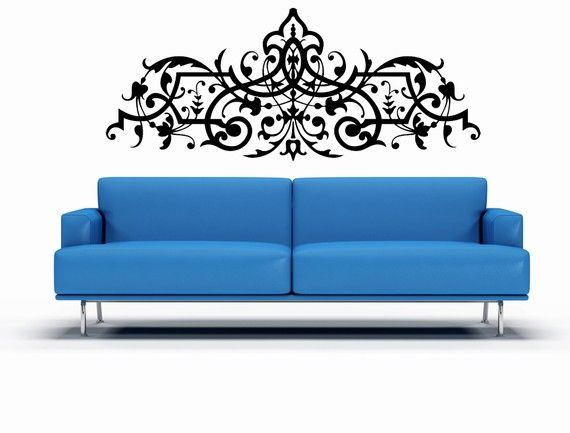 Intricate Decorative Art - Vinyl Wall Decal for $58.00 at etsy.com ...