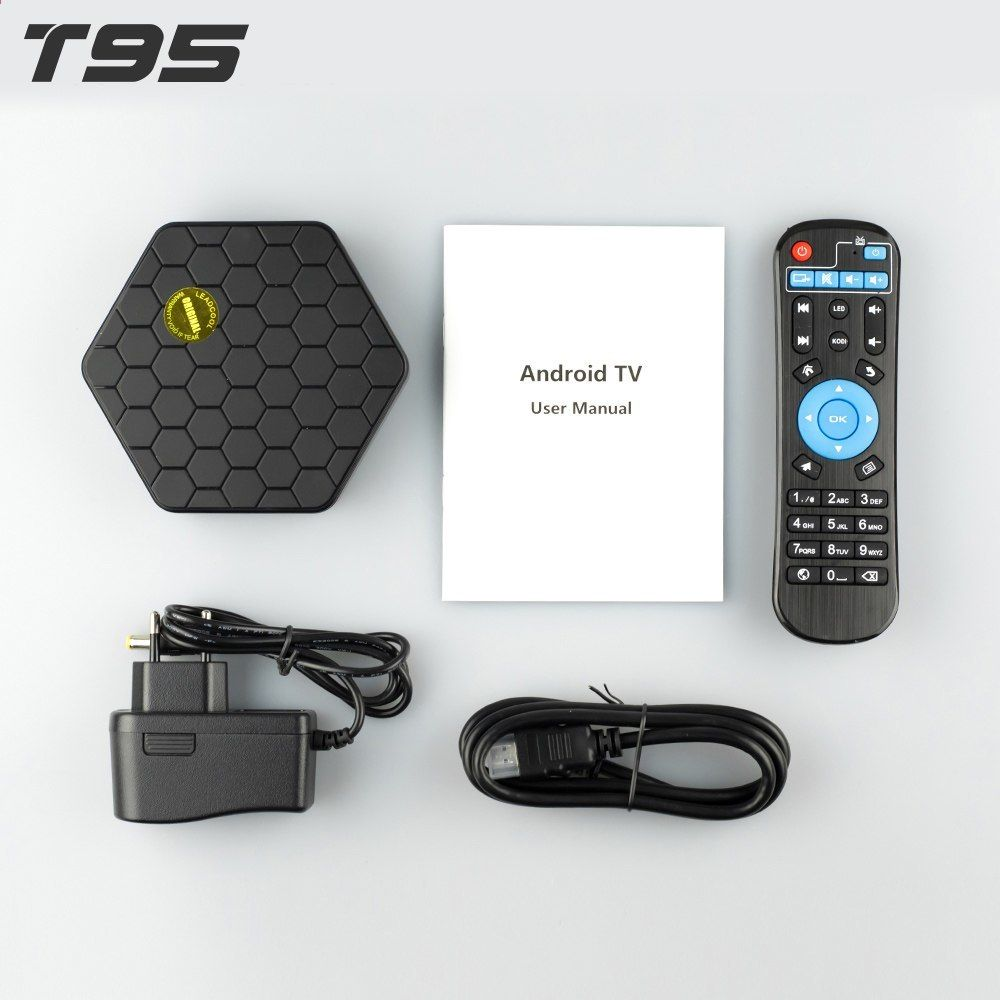 Original] T95Z plus 3GB 32GB Android 7 1 Smart TV Box 4K H