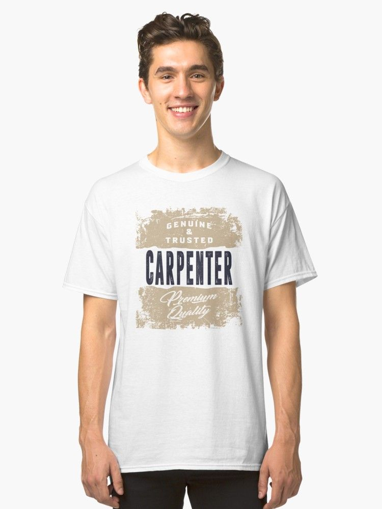 87f547921 Carpenter Tees | Slim Fit T-Shirt | What is your profession? | Mens ...