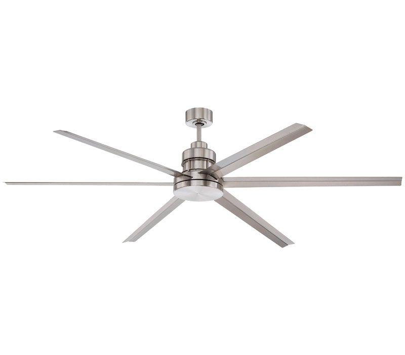 "craftmade mnd72bnk6 mondo 72"" industrial ceiling fan, 6 metal"
