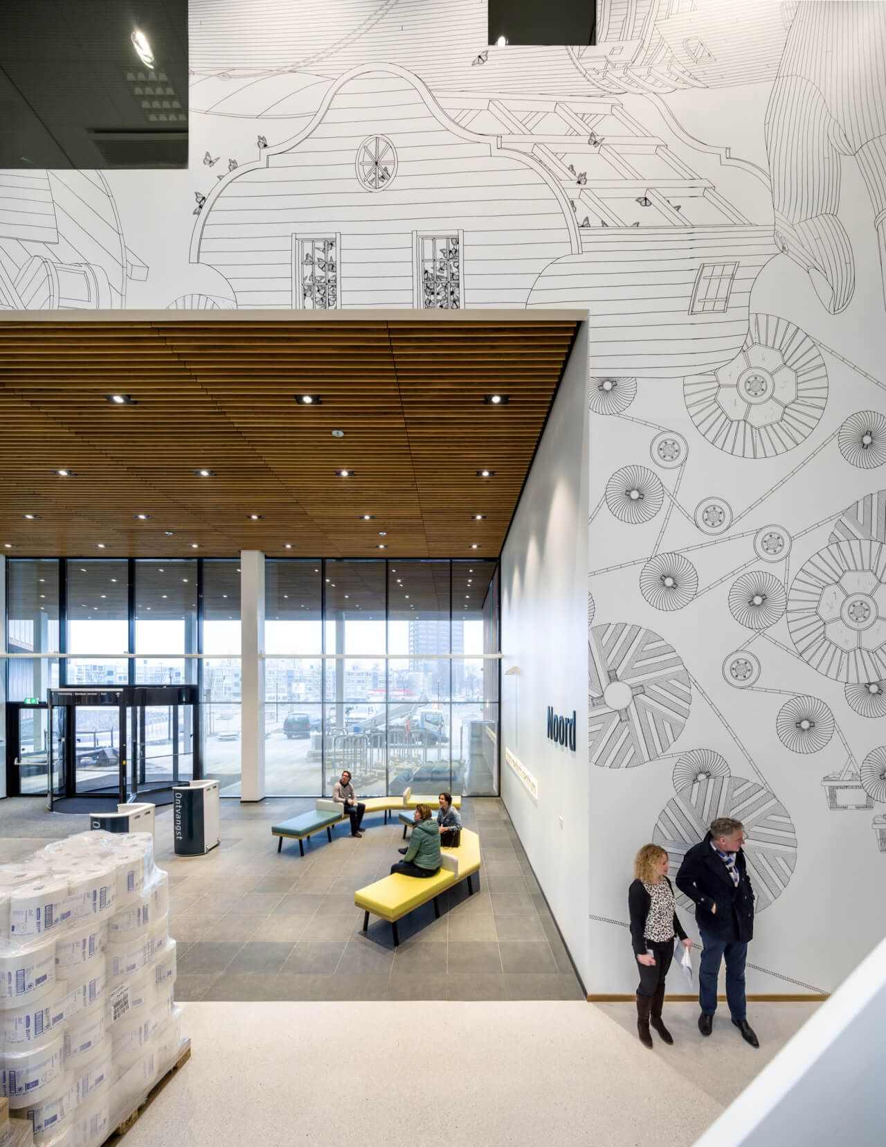 Silo Agency Zaans Medical Centre Environmental Graphics In 2018