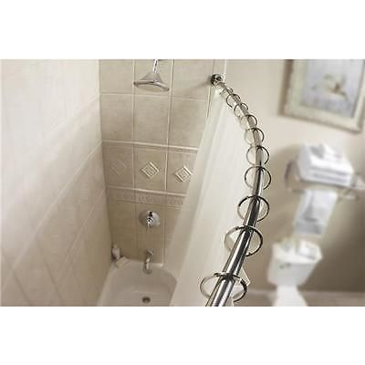 Shower Curtain Rods 168132: Chrome Curved Shower Rod Dn2160ch  U003e BUY IT NOW  ONLY