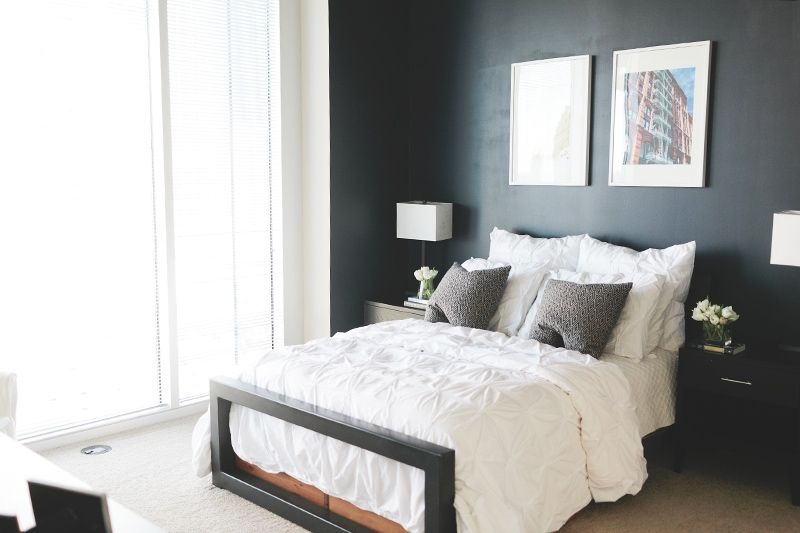 Colby Burlingame Atlanta Apartment Tour Home Bedroom Apartments Styles