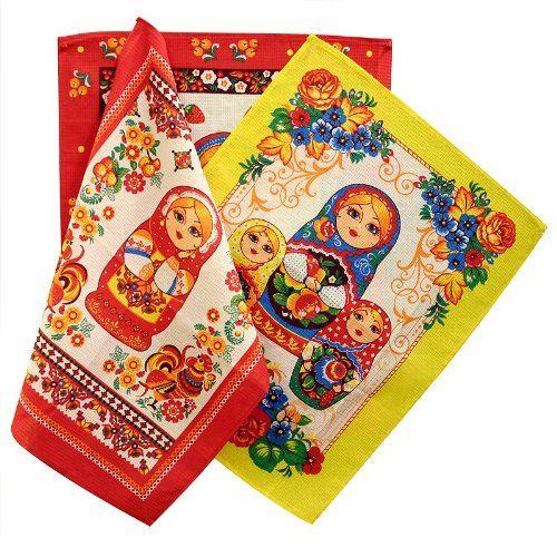 Kitchen Towel Set 'Matryoshka' Tailor Company http://www.amazon.com/dp/B00DUF21W2/ref=cm_sw_r_pi_dp_7dVQtb0FMNPCV7A1