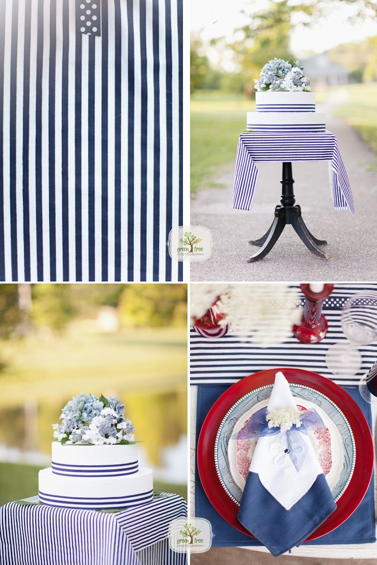 Red, White and Blue wedding inspiration ideas. #militarywedding | <3 ...