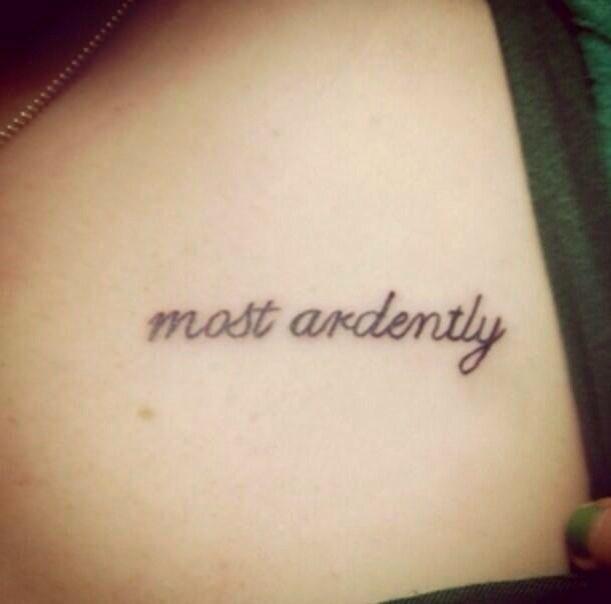23 Epic Literary Love Tattoos: Tattoos, Love Tattoos