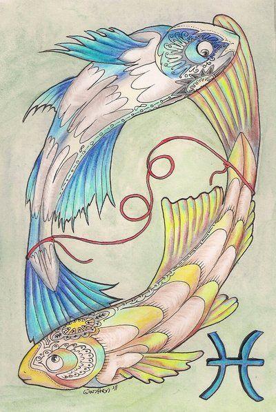Pisces By OneCrazyCleric At DeviantART