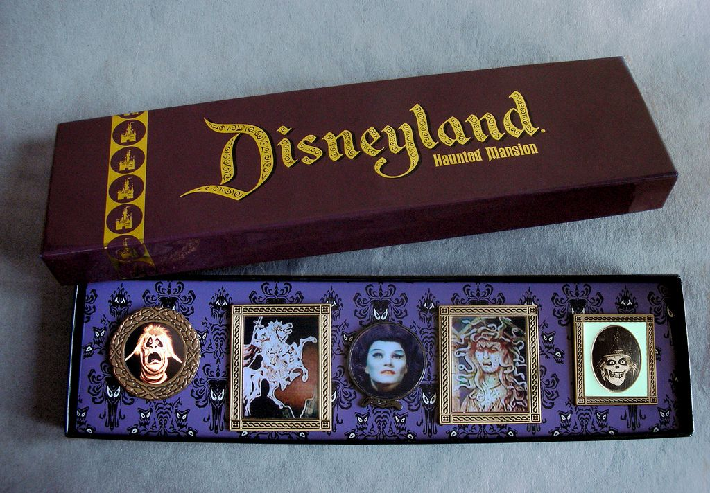 Disneyland Resort Haunted Mansion 50th Anniversary Mystery Pin Collection NEW