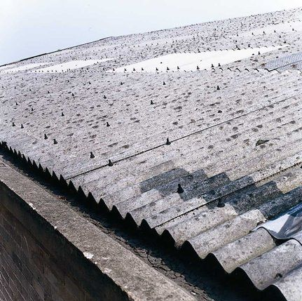 The Roof Of Corrugated Asbestos Cement Sheets Naves Dlya Patio Patio Naves