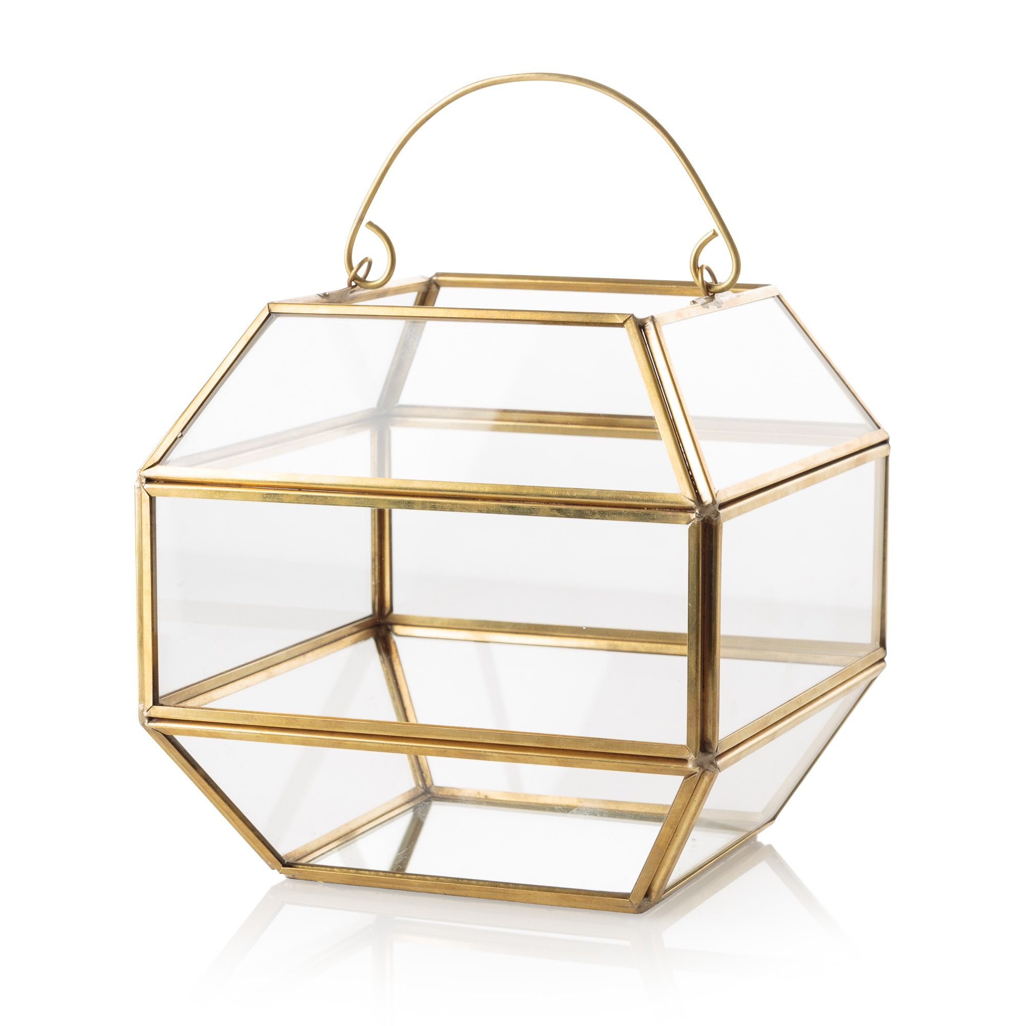Buy gold u glass gem terrarium from oliver bonas come home with me