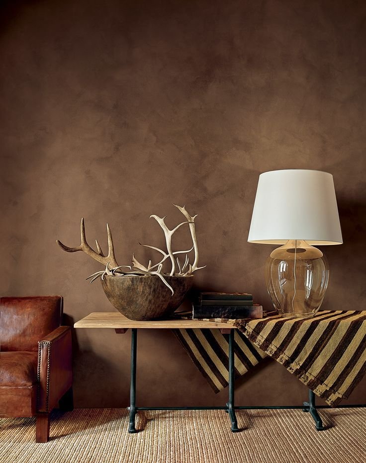 Ralph Lauren Paint presents an exclusive finish that evokes the beauty of  brushed suede with rich, authentic character.