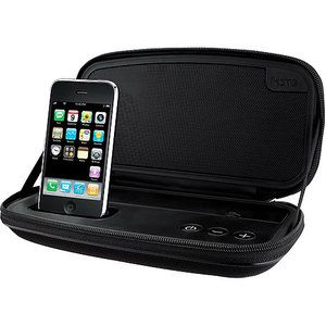 Wonderful IHome Portable Speaker System For IPhone/iPod, Black