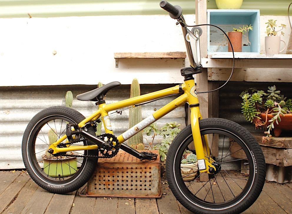 Fit Bike Co Misfit 16 Mustard 2018 Bike Bmx Bmx Bikes