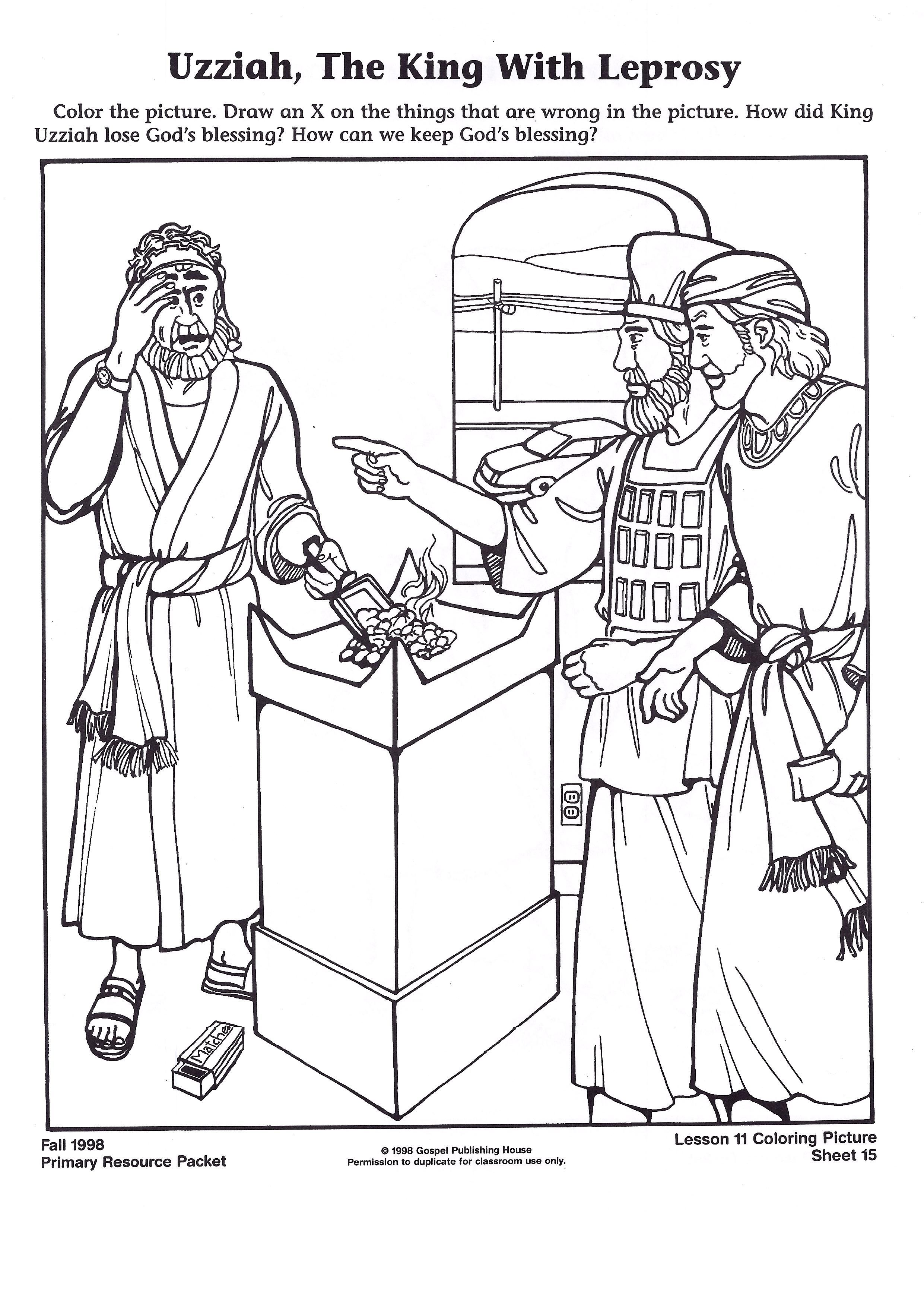 The Catholic Toolbox A To Z Bible Story Lesson Letter U