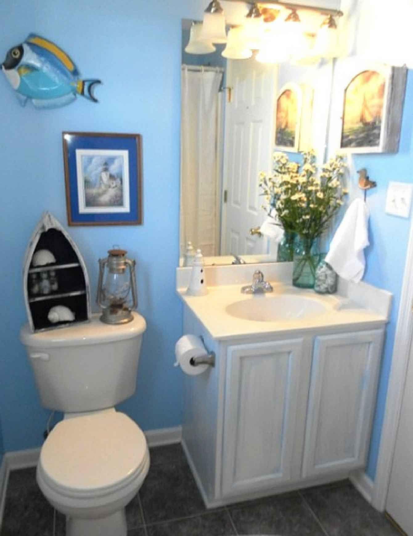 Bathroom Mesmerizing Image Of Bathrooms Ideas With Beach Themed