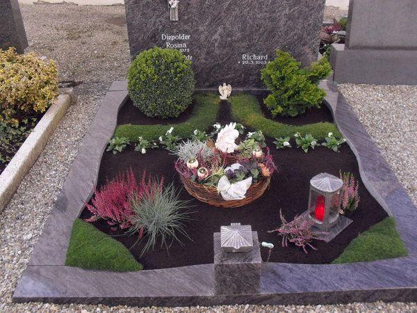Bild 16 aus Beitrag: Allerheiligen 2010: Grabschmuck in Schwaben #grabbepflanzungherbst