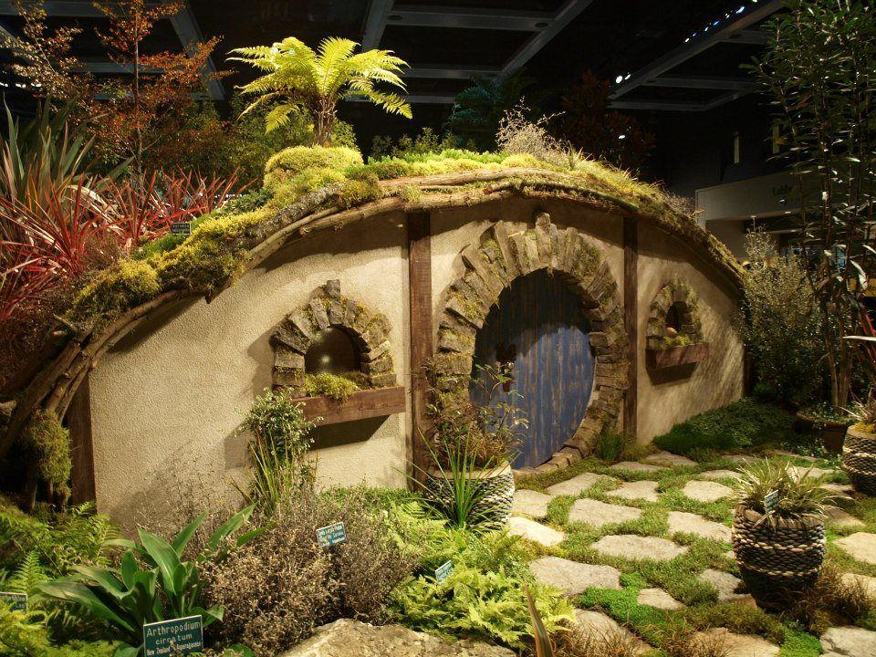 Hobbit house display at the Washington Park Arboretum, Seattle ✯ ωнιмѕу ѕαη∂у