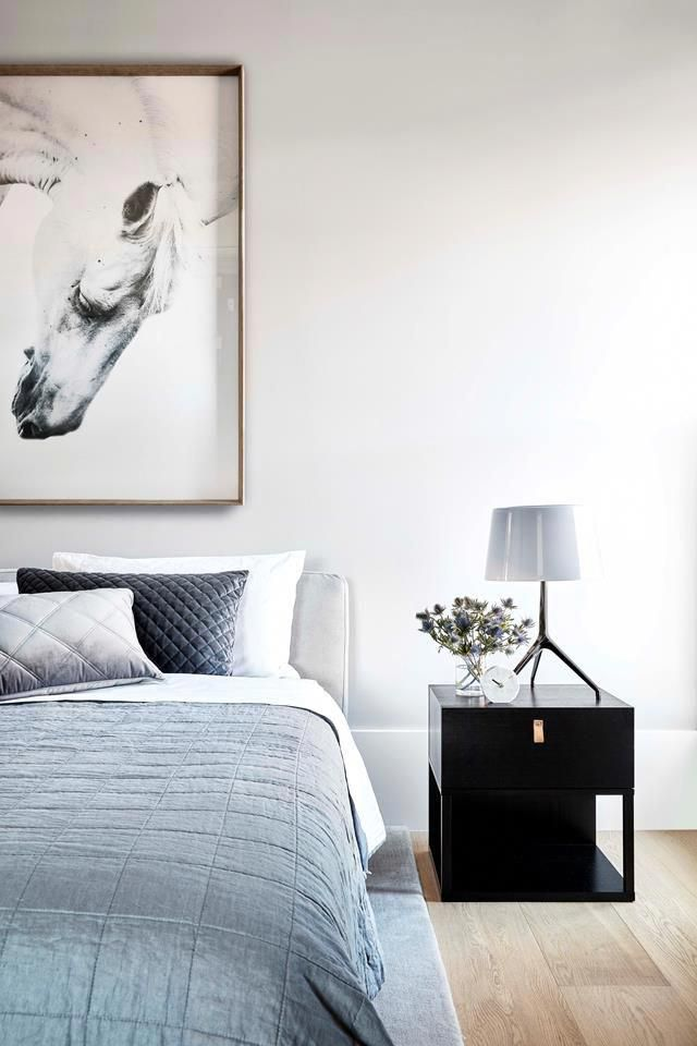 Calming grey tones and the layering of texture make for a restful master bedroom | Photography: Jack Lovel #ModernHomeDecorBedroom #graybedroomwithpopofcolor Calming grey tones and the layering of texture make for a restful master bedroom | Photography: Jack Lovel #ModernHomeDecorBedroom #graybedroomwithpopofcolor Calming grey tones and the layering of texture make for a restful master bedroom | Photography: Jack Lovel #ModernHomeDecorBedroom #graybedroomwithpopofcolor Calming grey tones and the #graybedroomwithpopofcolor
